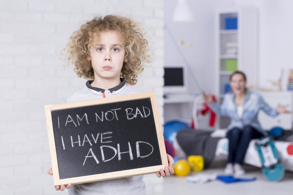 I'm not bad I have ADHD