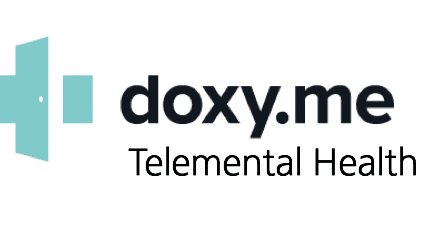 doxy.me logo online therapy