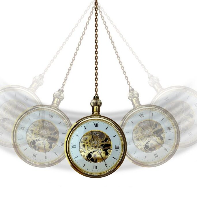 image of the hypnotist's fabled watch swinging to and fro